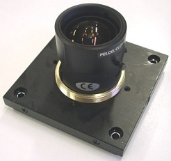 Optic Mounted on camera cover