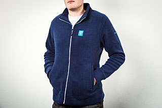 ESO Slim Fit Fleece Jacket: Men Size M