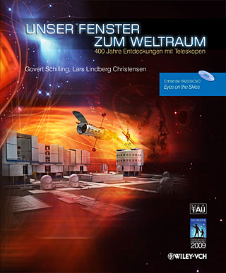 Book: Eyes on the Skies - German (Unser Fenster zum Weltraum)