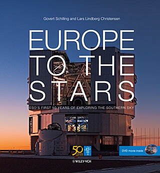 Book: Europe to the Stars — ESO's first 50 years of exploring the southern sky (coffee-table book)