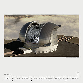 January 2011 — ESO's planned European Extremely Large Telescope