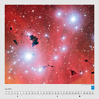 July - The Very Large Telescope snaps a stellar nursery