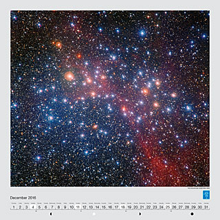 December - The colourful star cluster NGC 3532
