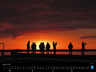 August - Sunset at Paranal