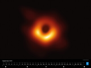 September - First image of a black hole