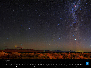 January - Jewels of the Chilean night sky
