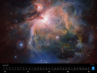 July - The Orion Nebula
