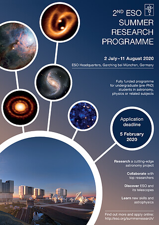 ESO Summer Research Programme 2020