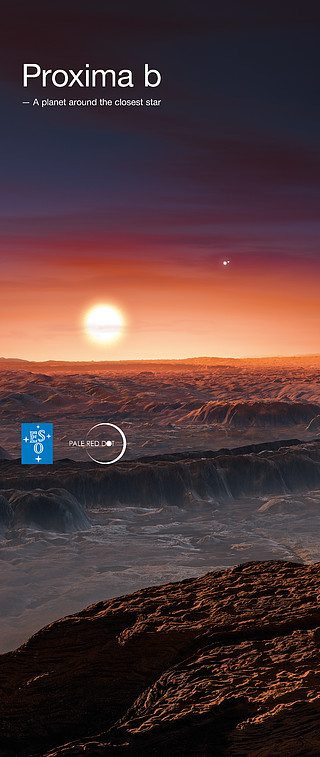 Proxima b - A planet around the closest star