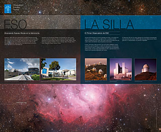 ESO and La Silla (Vitacura Reception, Spanish)
