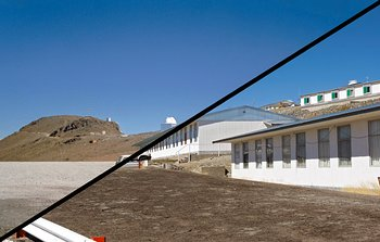 La Silla, the First Home for ESO's Telescopes — ESO's first observatory site Then and Now