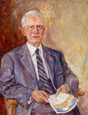 ESO Director General Prof. Otto Heckmann (painting)