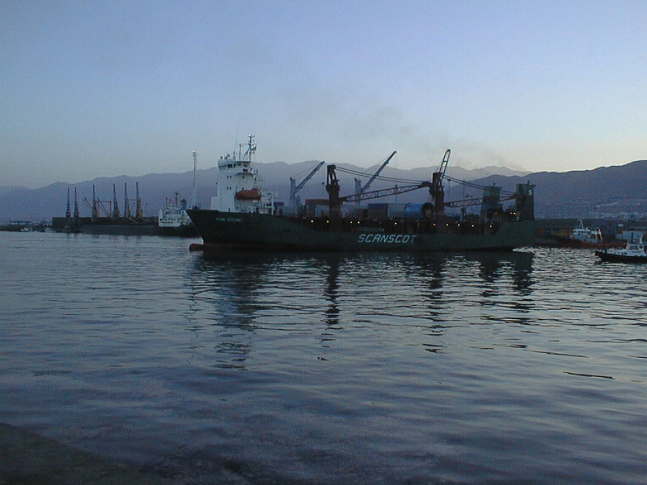 Antofagasta Harbour, Chile
