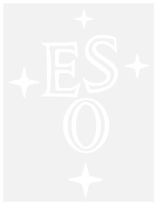 ESO logo outline white, with transparent background