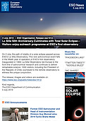 ESO — La Silla 50th Anniversary Culminates with Total Solar Eclipse — Organisation Release eso1912