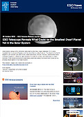 ESO — ESO Telescope Reveals What Could be the Smallest Dwarf Planet Yet in the Solar System — Science Release eso1918