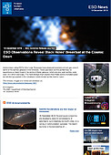 ESO — ESO Observations Reveal Black Holes' Breakfast at the Cosmic Dawn — Science Release eso1921