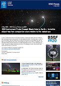 ESO — ESO Instrument Finds Closest Black Hole to Earth — Science Release eso2007