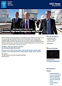 ESO Organisation Release eso1305 - European High-level Delegations visit Paranal
