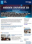 ESO Organisation Release eso1329-en-us - World Premiere of IMAX® 3D Film Hidden Universe — Your ticket to the stars through the eyes of the world's most powerful telescopes, seen on screen and in 3D for the first time