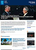 ESO Organisation Release eso1345-en-us - Chilean President Visits Paranal to Announce Transfer of Land for the E-ELT