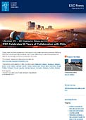ESO Organisation Release eso1346-en-us - ESO Celebrates 50 Years of Collaboration with Chile