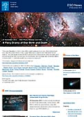 ESO Photo Release eso1348-en-us - A Fiery Drama of Star Birth and Death