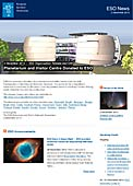 ESO Organisation Release eso1349-en-us - Planetarium and Visitor Centre Donated to ESO