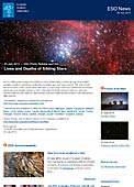ESO Photo Release eso1422 - Lives and Deaths of Sibling Stars