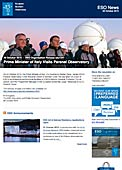 ESO — Prime Minister of Italy Visits Paranal Observatory — Organisation Release eso1541
