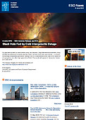 ESO — Black Hole Fed by Cold Intergalactic Deluge — Science Release eso1618