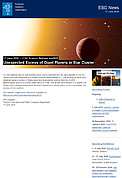 ESO — Unexpected Excess of Giant Planets in Star Cluster — Science Release eso1621