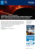 ESO — Spinning Black Hole Swallowing Star Explains Superluminous Event — Science Release eso1644