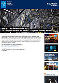 ESO — ESO Signs Contracts for the ELT's Gigantic Primary Mirror — Organisation Release eso1717