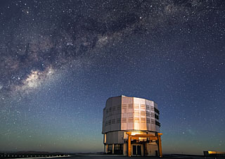 Postcard: The Paranal Unit Telescope