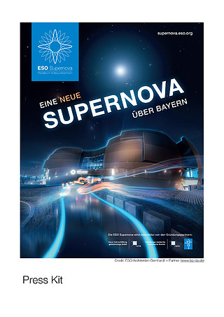 ESO Supernova Planetarium & Visitor Centre press kit