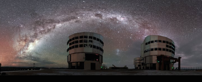 The Milky Way from the VLT