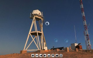 Virtual Tour of Paranal and Cerro Armazones